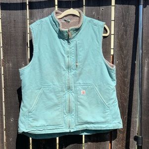 Carhartt fleece lined vest